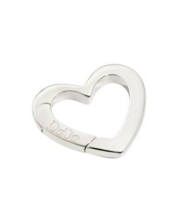 moschettone cuore argento dodo