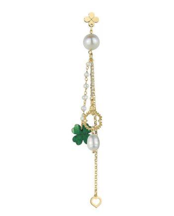orecchino ciuffo rosario conperla lebole