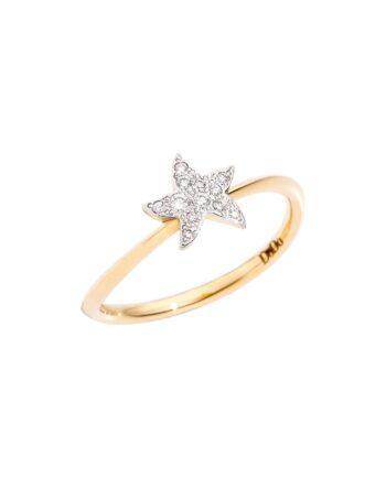 anello stella piccola