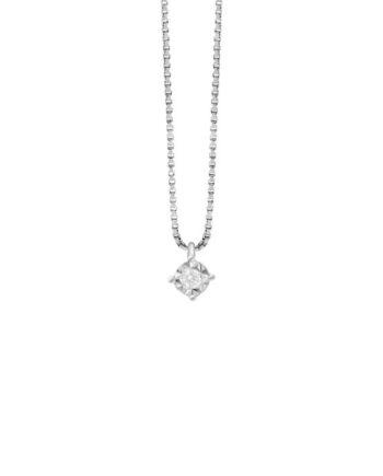 girocollo punto luce griffe diamante ray
