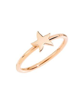 anello stella marina oro rosa dodo