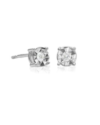 orecchini punti luce diamante ray