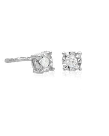 orecchini punto luce diamante ray