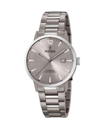 orologio titanio festina