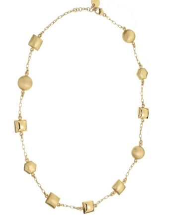girocollo Aquaforte argento placcato oro