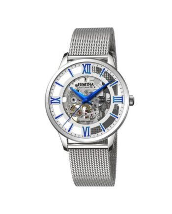 f20534/1 orologio festina automatico skeleton acciaio uomo f20534/1