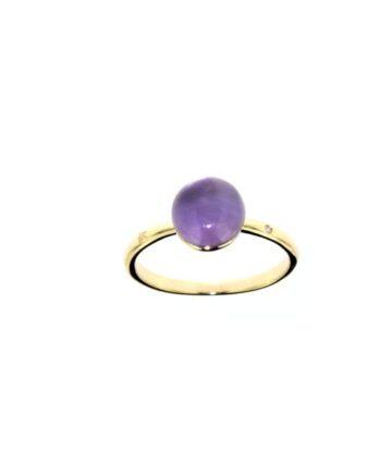 anello Sofia ametista